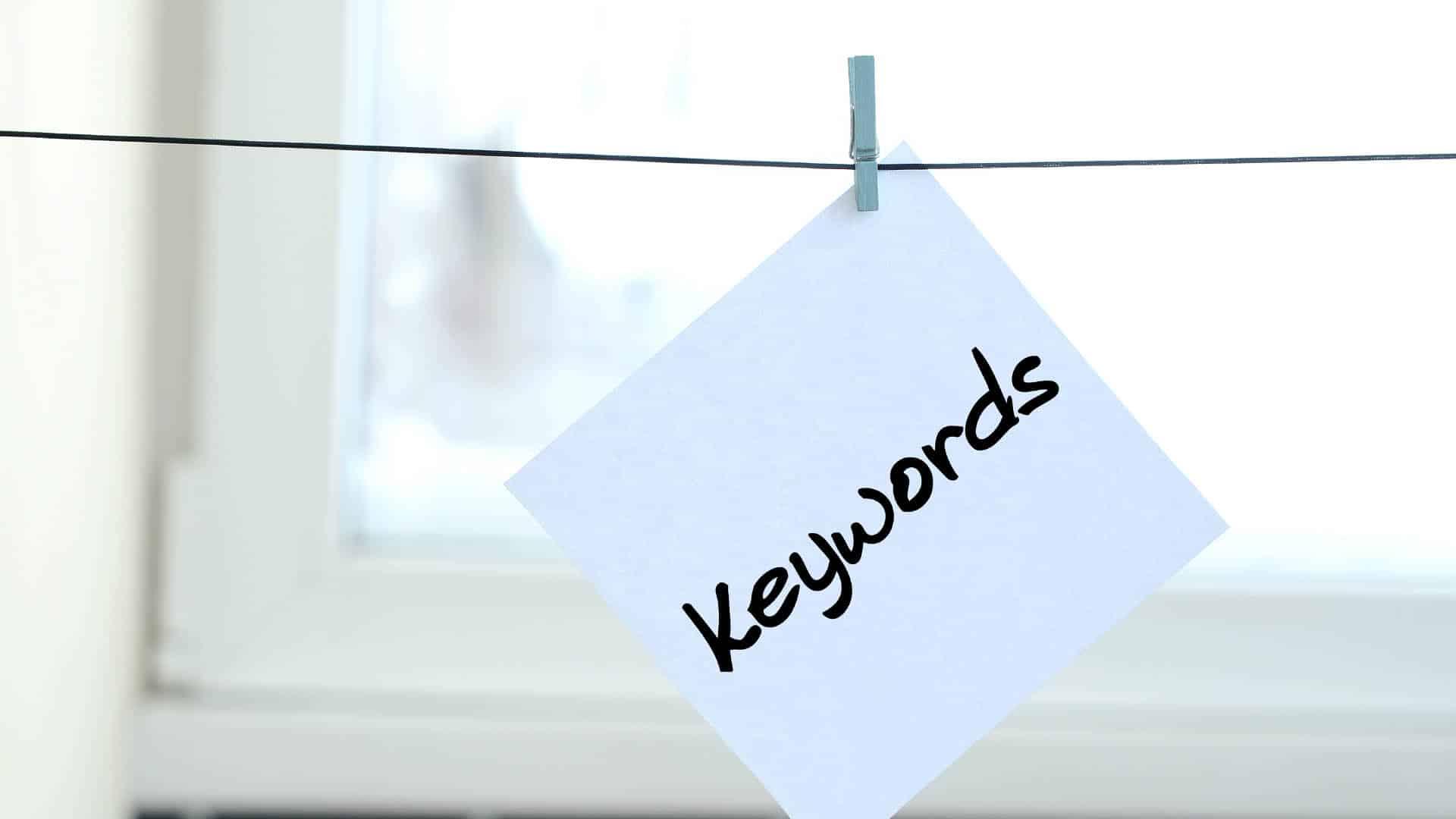 Como criar uma boa lista de palavras-chave